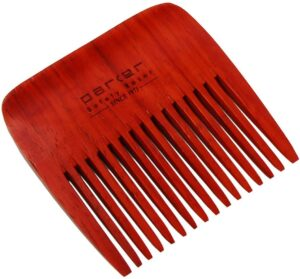 Wodden wide toothed comb